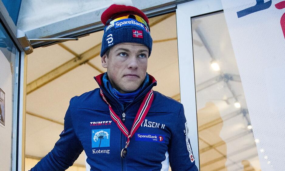 IKKE SIGNERT: Johannes Høsflot Klæbo og Norges Skiforbund er uenige rundt retningslinjene for bruken av sosiale medier. Foto: Bjørn Langsem / Dagbladet