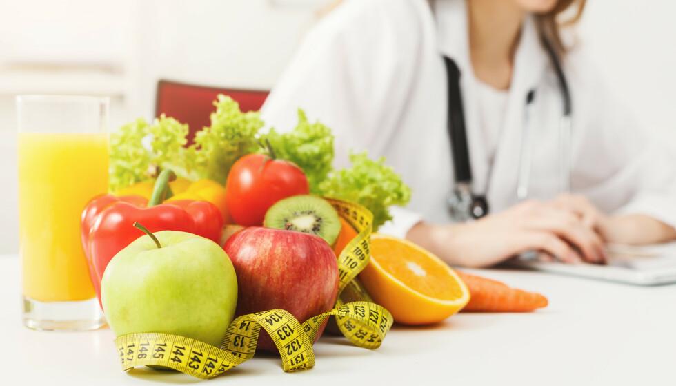 SLANKENDE MAT: Er målet å holde seg mett på diett, er det lurt å spise mat med mye næring men som inneholder lite kalorier. Her anbefaler eksperter maten som er slankende. Foto: Shutterstock