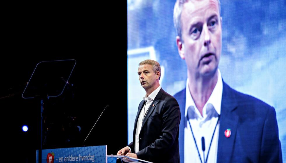 KLAR FOR NY TILLIT: Terje Søviknes gikk av som nestleder i Frp i 2001. I morgen velges han på nytt. Foto: Nina Hansen / Dagbladet