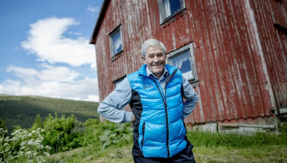 DØD: Skilegenden Gjermund Eggen ble 77 år gammel. Foto: Anita Arntzen