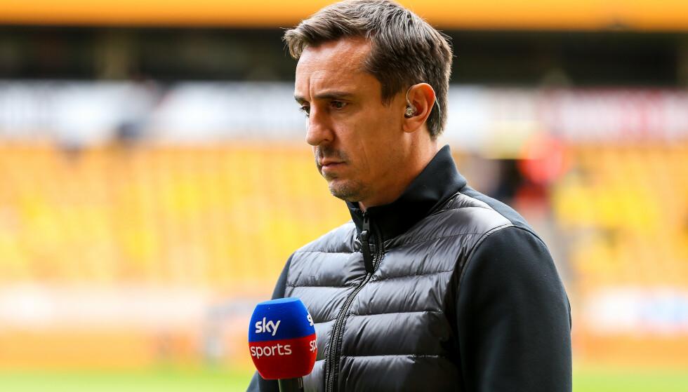 KRITISK: Gary Neville mener United-ledelsen må gå en runde med seg selv og holde seg utenfor det sportslige i klubben. Foto: Robbie Stephenson/JMP/REX