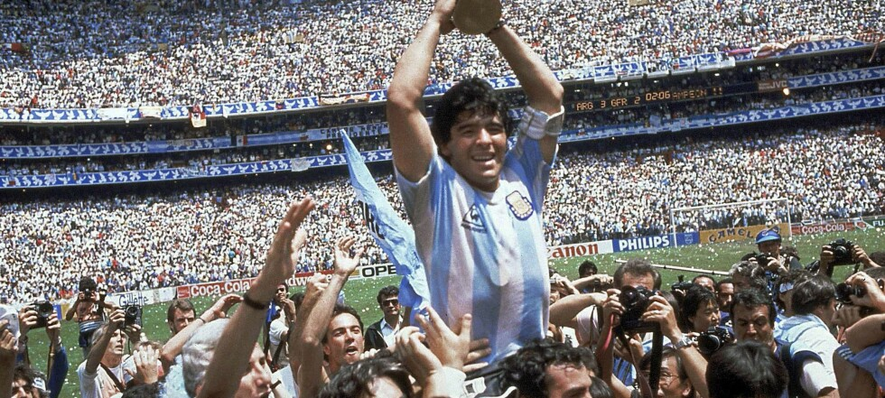 Da Maradona var gud