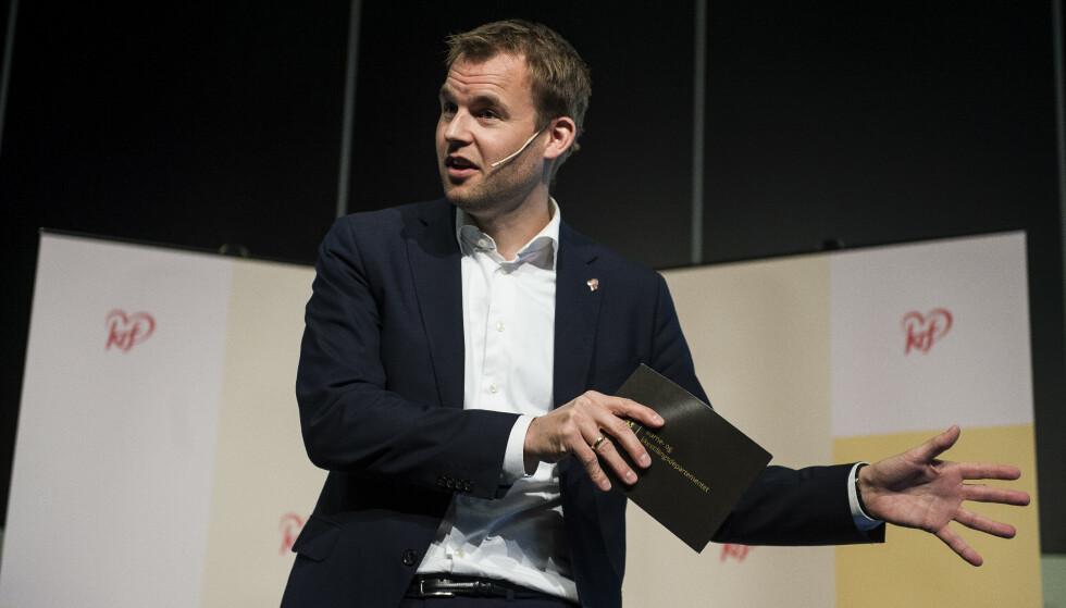 Ny leder: Kjell Ingolf Ropstad vil ikke blande seg i hva menighetene gjør. Foto: Carina Johansen / NTB Scanpix