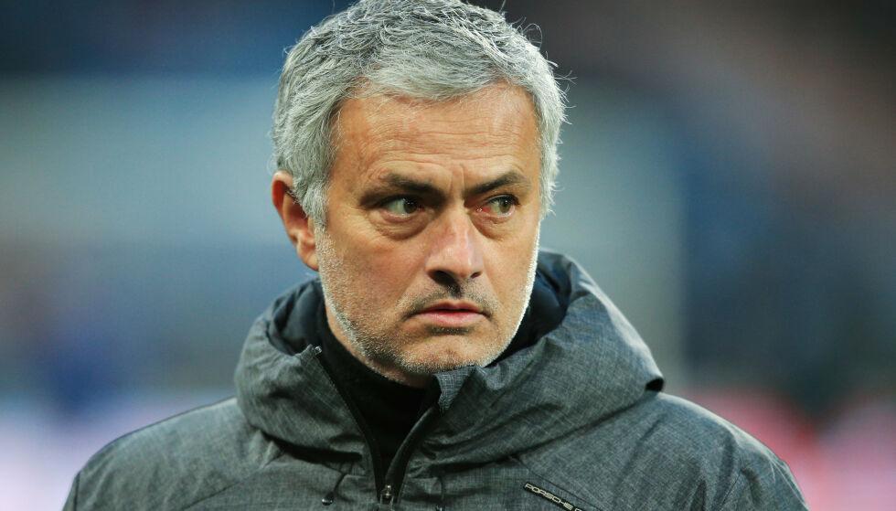 HVA SA JEG?: José Mourinho deler noen av sine tanker om Manchester United. Foto: Matt McNulty/Jmp/REX