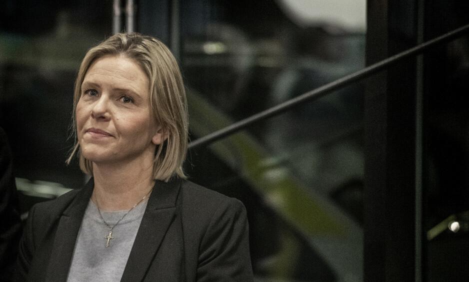 VIL HA FLYKTNINGSTOPP: Frp-nestleder Sylvi Listhaug går inn for å innføre flyktningstopp for områder i Norge der flyktningandelen ifølge partiet er for høy. Foto: Hans Arne Vedlog / Dagbladet