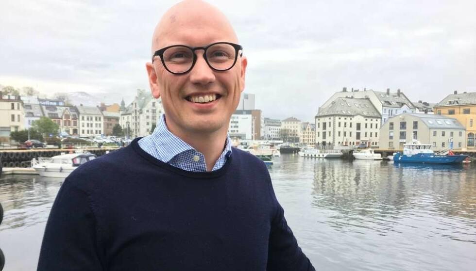 REISELIVSSJEF: Tom Anker Skrede er reiselivssjef i Visit Ålesund. Foto: Destinasjon Ålesund og Sunnmøre