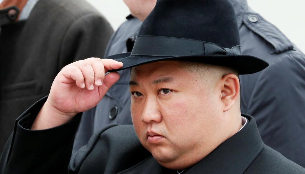 LEDER: Kim Jong-un skal ha vært misfornøyd med samtalene med USA. Foto: REUTERS/Shamil Zhumatov/File Photo
