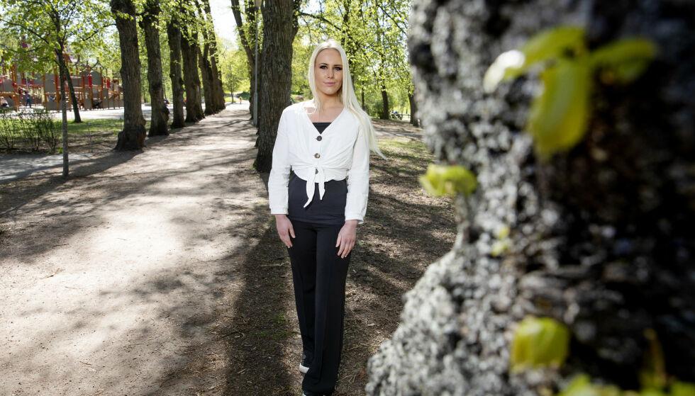 TOK GREP: Madelen Jensen var 16 år da hun forsto alvoret. Hun veide 135 kilo, hadde lavt selvbilde og trøstespiste. En dag tok hun grep. Foto: Kristin Svorte
