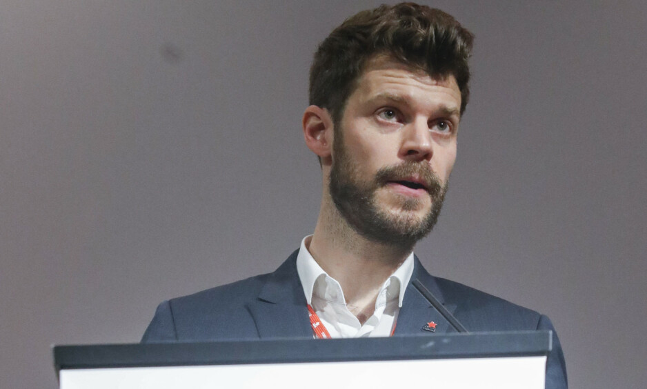 REFORM: Partileder Bjørnar Moxnes har langt på vei lyktes i sitt prosjekt med å få Rødt til å framstå som et mer moderne, demokratisk parti. Men det er en reform, ingen revolusjon. Foto: Terje Bendiksby / NTB scanpix