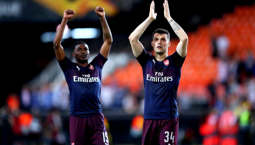 REAGERER:Arsenal raser mot UEFA etter at finaleklubbene i europaligaen kun får 6000 billetter hver til sine supportere. Foto: NTB Scanpix