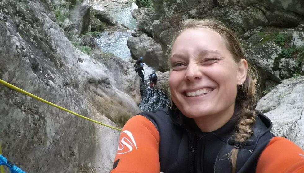 DREPT: Danske Louisa Vesterager Jespersen (24) var på tur med norske Maren Ueland (28) i Marokko da de ble drept. Foto: Privat