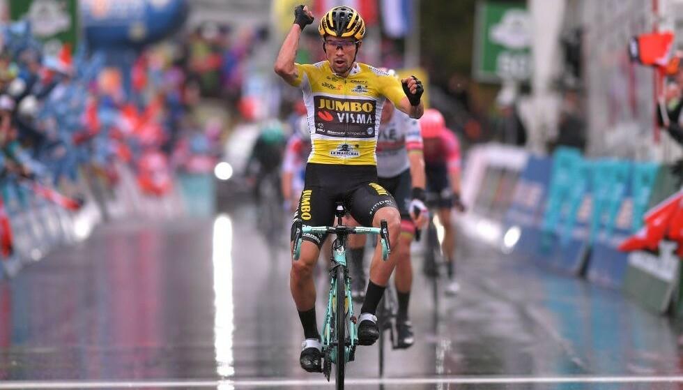 TOPPFAVORITT: Primoz Roglic er blant favorittene i årets Giro d'Italia-felt. FOTO: Tim de Waele/Getty Images.