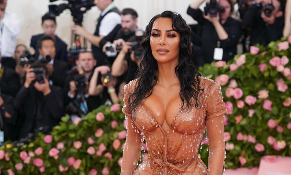FIREBARNSMOR: Realitystjerna Kim Kardashian og ektemannen Kanye West er blitt foreldre igjen. Foto: NTB Scanpix