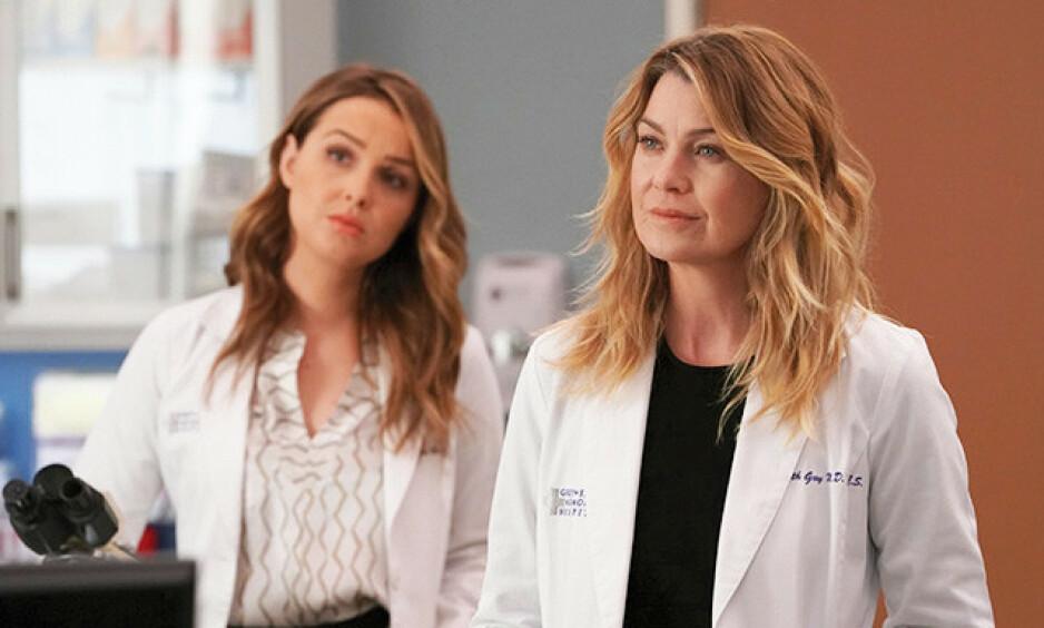 FORNYET: «Grey's Anatomy» blir værende på skjermen. Det blir også Ellen Pompeo. Foto: ABC