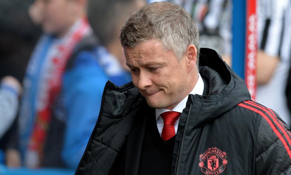 SLITER: Ole Gunnar Solskjærs Manchester United har ikke klart å følge opp den gode formen fra nyttår. Foto: REUTERS / Peter Powell / NTB Scanpix