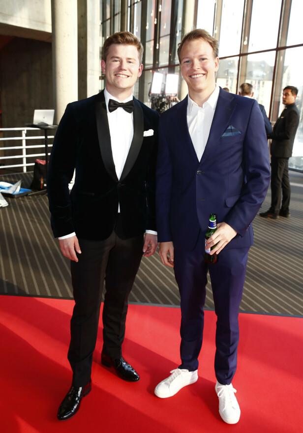 FESTKLARE: Nicolay Ramm og Rasmus Wold. Foto: NTB Scanpix
