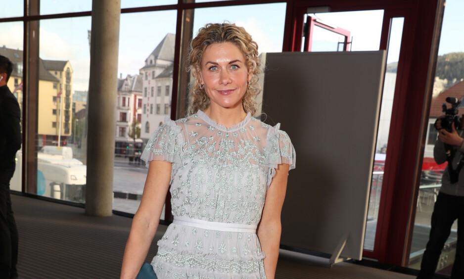 GULLRUTEN: Cecilie Skog er på plass under årets Gullruten-utdeling. Foto: NTB Scanpix