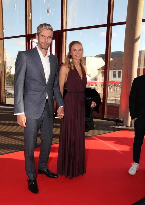 FESTKLARE: Thomas Alsgaard og kona Rønnaug Schei. Foto: Andreas Fadum