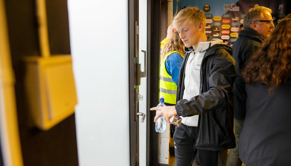 SKUFFET: Rosenborg-back Birger Meling var langt i fra fornøyd med ett poeng på Åråsen lørdag kveld. Foto: NTB/Scanpix