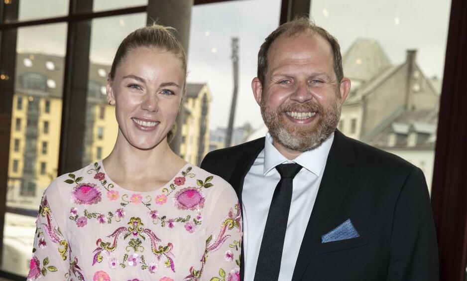 BLE HJEMME: I fjor tok Truls Svendsen med seg kjæresten Charlotte Smith på Gullruten for første gang. I år ble de derimot hjemme. Foto: Andreas Fadum