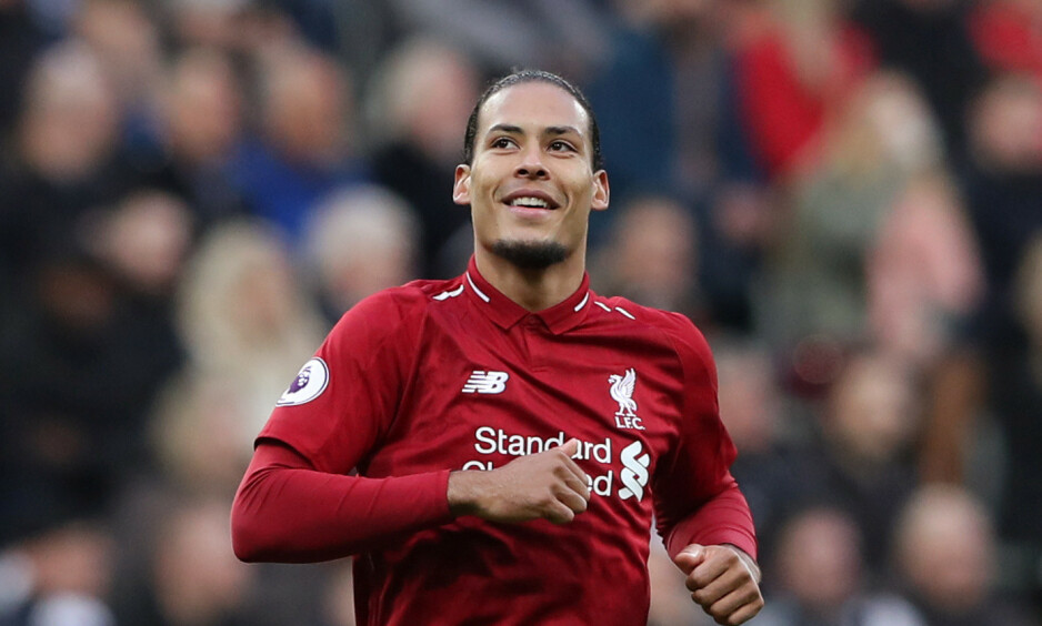 VANT: Virgil van Dijk er årets spiller i Premier League. Foto: REUTERS / Scott Heppell / NTB Scanpix