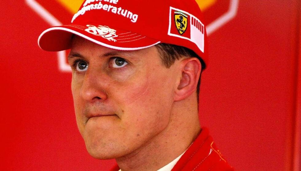 ALVORLIG SKADET: Michael Schumacher. Foto: NTB