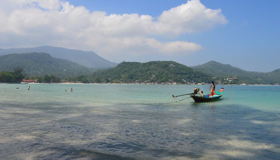IDYLL: Koh Phangan i Thailand er kjent over hele verden for sine fullmånefester og halvmånefester. Foto: NTB Scanpix