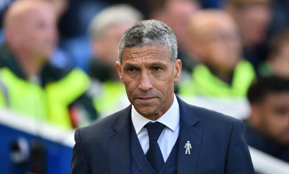 FERDIG: Chris Hughton få ikke lenger være manager i Brighton. Foto: NTB scanpix