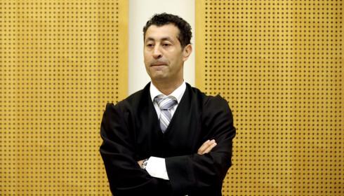 FORSVARER: Advokat Abdelilah Saeme forsvarer den utleverte mannen. Foto: Vidar Ruud / NTB Scanpix