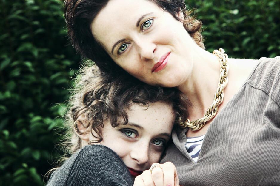 OVERDOSE: Anne-Marie Cockburn mistet sin 15 år gamle datter for seks år siden, på grunn av en overdose. Foto: Privat