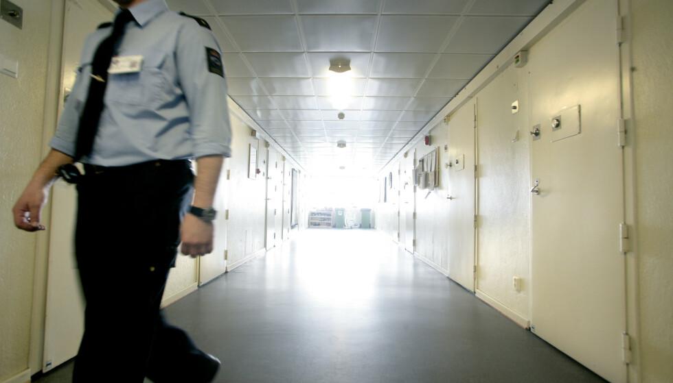 FENGSEL: En korridor i Ila fengsel i Bærum. (Illustrasjonsfoto). Foto: Berit Roald / SCANPIX .