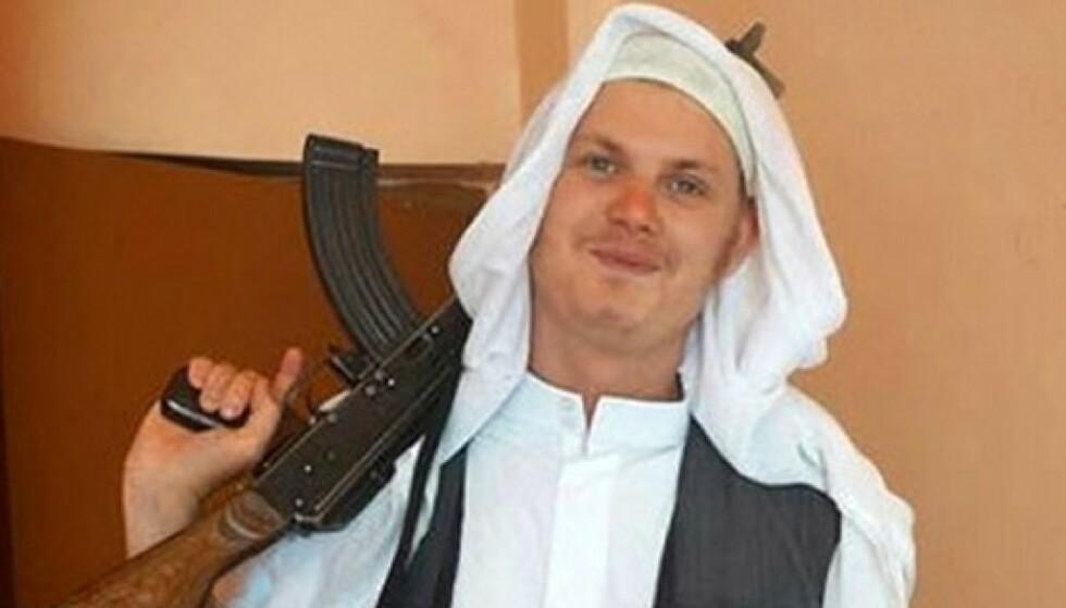 DØDE I SYRIA: Michael Skråmo døde i kamper for IS. Nå blir hans barn hentet til Sverige.