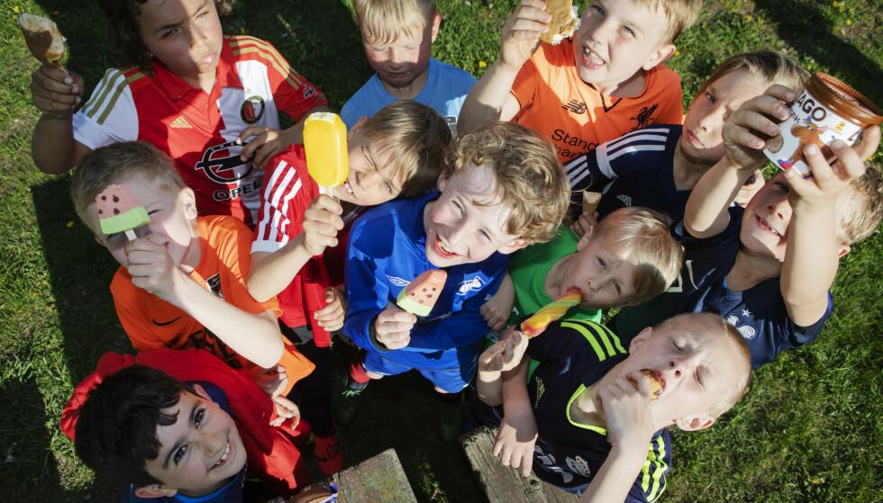 HURRA!: Det beste med 17. mai? VIF Kongeblå gutter 2011 er ikke i tvil: - IS!!