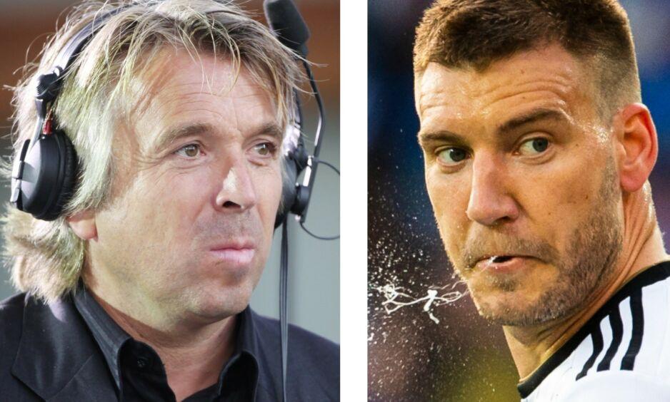 SIKKER: Jahn Ivar Jakobsen er overbevist om at Nicklas Bendtner ikke spiller i Rosenborg etter sommeren. Foto: NTB scanpix