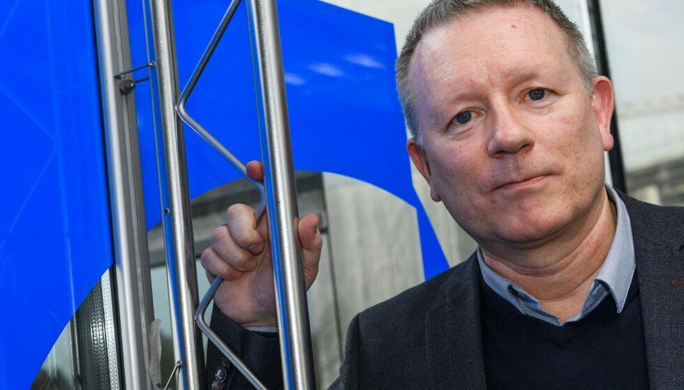 KLAR TIL DYST: Sjef for Eurovision, Jon Olav Sand arrangerer musikkfest i Israel. - Vi har vært i utfordrende områder før, sier han til Dagbladet. Dette bildet er tatt ved en tidligere anledning. Foto: NTB Scanpix