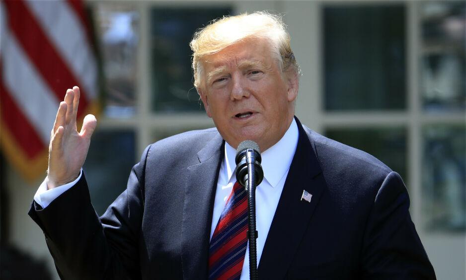 MISFORNØYD PARTIFELLE: Justin Amash sier han er for å stille Donald Trump for riksrett. Foto: AP Photo/Manuel Balce Ceneta