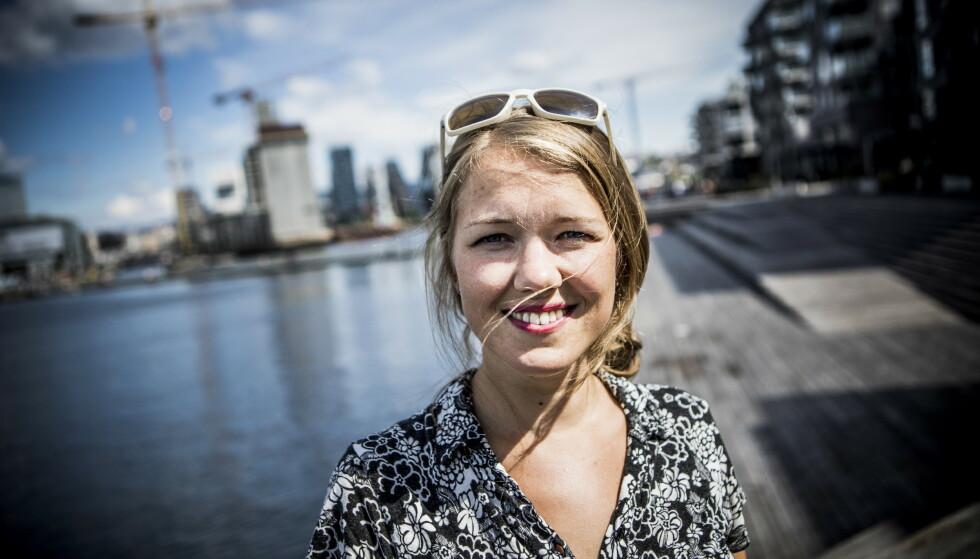 <strong>LANDSMØTE:</strong> Une Bastholm og Miljøpartiet de Grønne (MDG) møtes til landsmøte denne helga. Foto: Christian Roth Christensen / Dagbladet