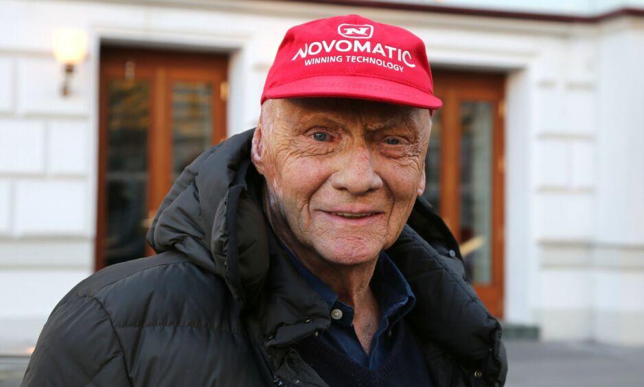 DØD: Formel 1-legenden Niki Lauda er død. Foto: NTB Scanpix