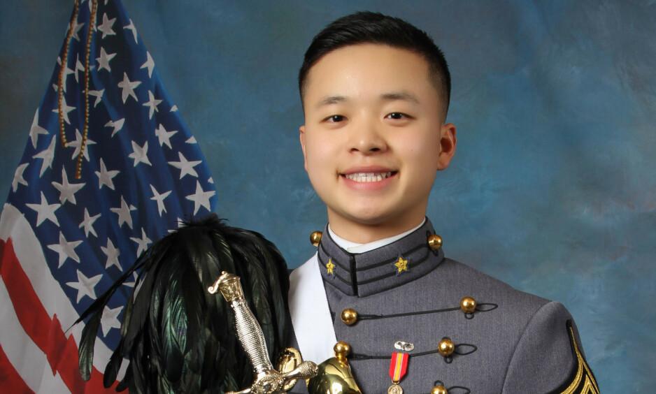 DØDE: Peter Zhu døde etter en skiulykke i februar. Nå har foreldrene fått rettens velsignelse til å bruke sønnens sperm. Foto: United States Military Academy via AP / NTB scanpix