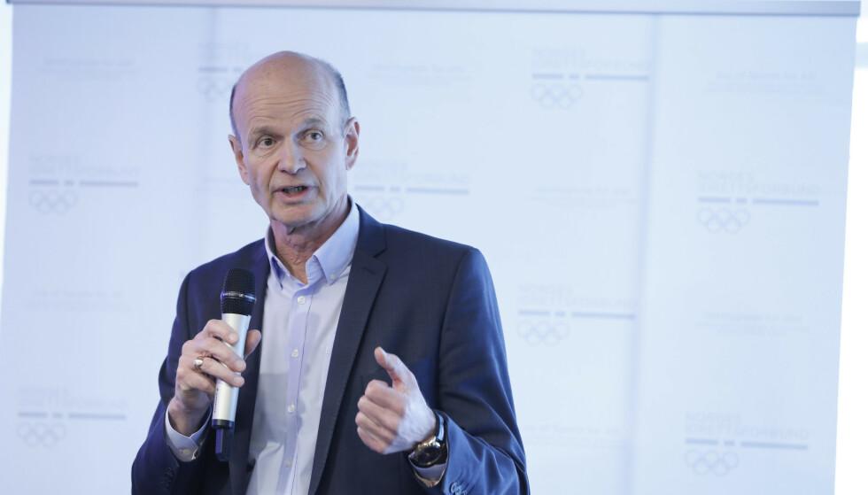 FAVORITT: Sven Mollekleiv er innstilt av valgkomiteen som ny idrettspresident, men får kamp om stillingen. Foto: NTB scanpix