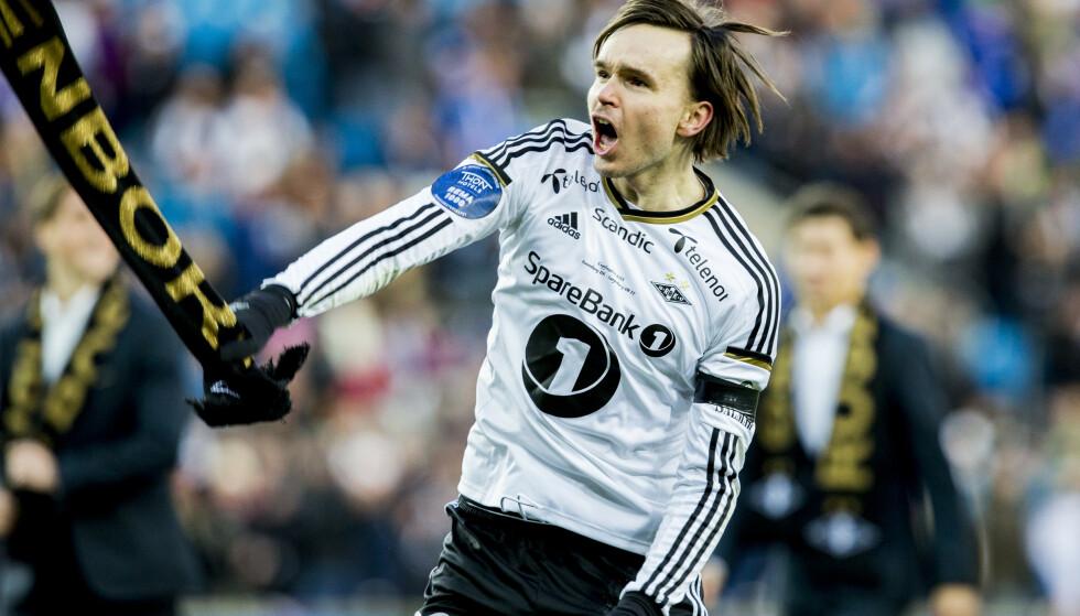 DEN GANG DA: Ole Selnæs jubler for cupfinaleseier i 2015. Det var starten på en seiersrekke hvor RBK fikk med seg sju av åtte troféer de neste fire sesongene. Nå går det i midlertid tråere for klubben. Foto: NTB/Scanpix
