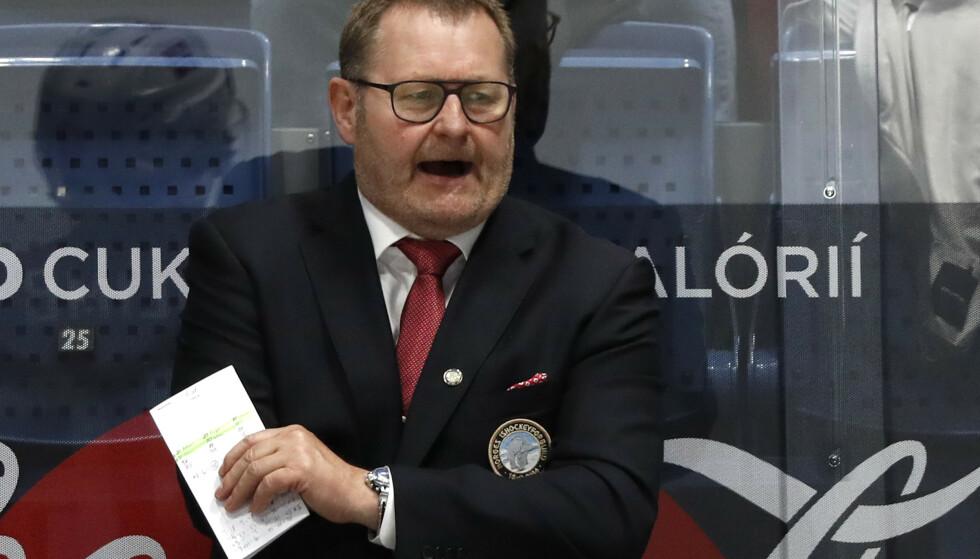 NYTT TAP: VM endte på skuffende vis for Norge og landslagssjef Petter Thoresen. Foto: NTB/Scanpix