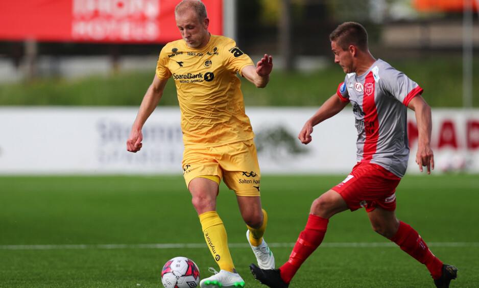 UTE: Bodø/Glimt er ute av cupen etter å ha tapt 2-1 mot Strømmen etter ekstraomganger. Foto: Ryan Kelly / NTB scanpix