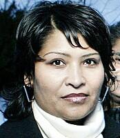 SONDERER: Senior kommunikasjonsrådgiver i Justisdepartementet Raheela Chaudhry. Foto: Henning Lillegård