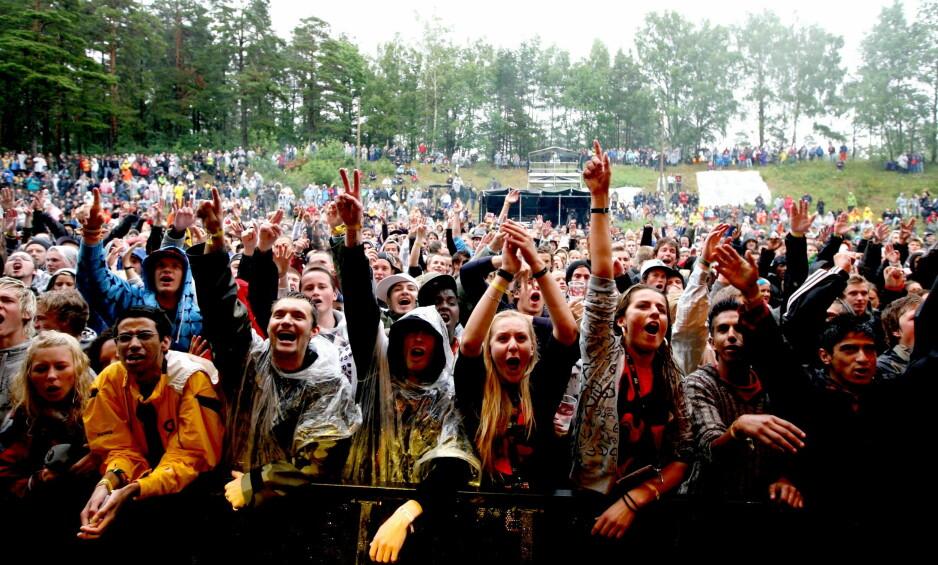 NY HOVE: Hove Music Festival skulle arrangeres i år på det samme området som nedlagte Hovefestivalen, på Tromøy i Arendal, men gikk konkurs tidligere i juni. Foto: Lars Eivind Bones / Dagbladet