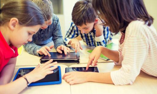 Blir barn smartere av et nettbrett?