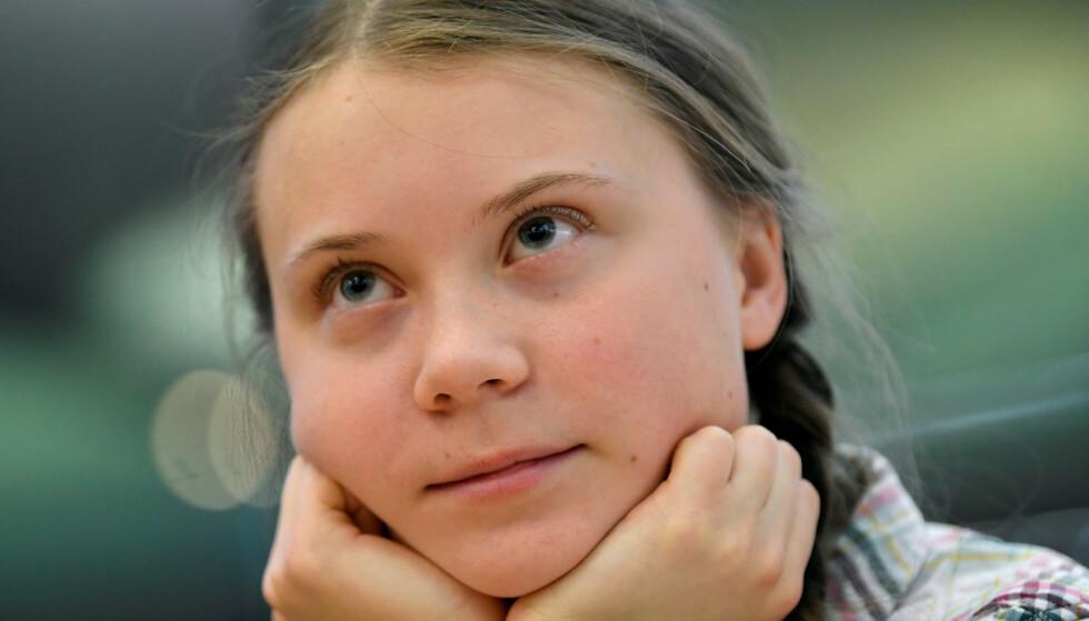 PROSJEKTBYGGER: Det er vanlig å ha rundt femten personlige prosjekter på gang. Greta Thunberg fikk en hel verden med seg for sitt store klimaprosjekt. Foto: NTB Scanpix