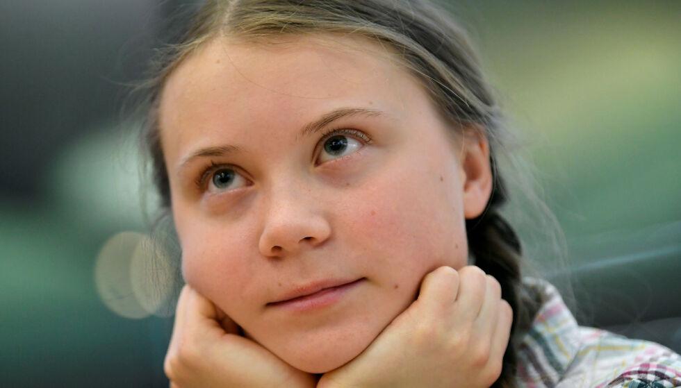 UNG AKTIVIST: Greta Thunberg har inspirert skoleelever over «hele» verden til klimastreik. Foto: Reuters