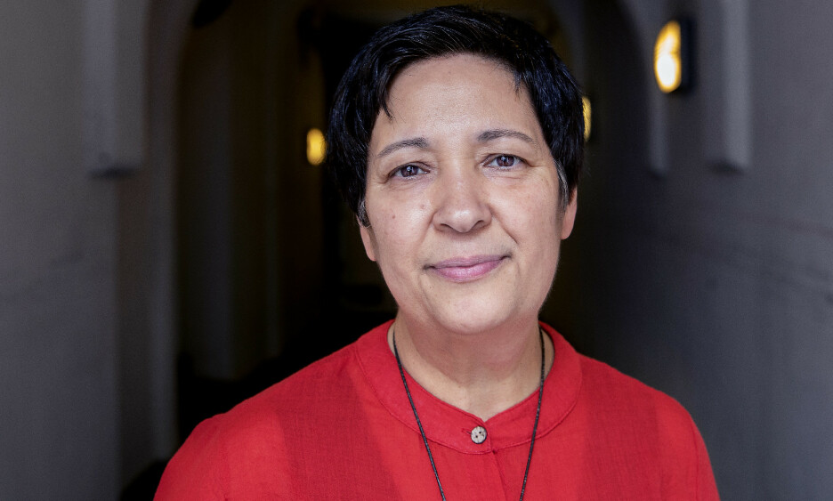 DRAPSTRUET: Forfatteren, juristen og menneskeretttighetsaktivisten Seyran Ates besøkte Oslo. Foto: Kristin Svorte