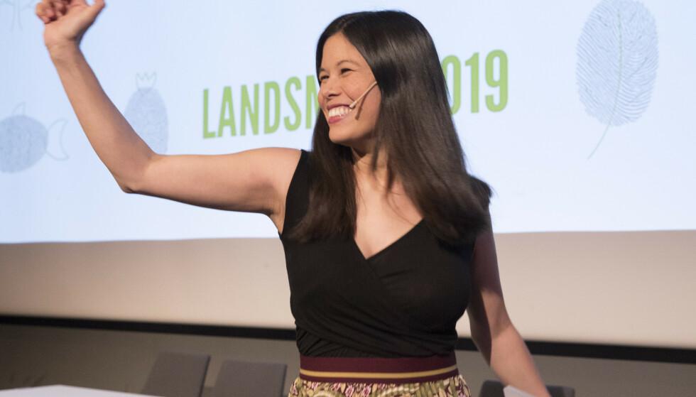 POPULÆR: Lan Marie Nguyen Berg, byråd for MDG i Oslo, fikk desidert flest personstemmer i kommunevalget. Hun er et unntak. I lokalpolitikken er det bråstopp for kvinnene. Foto: Terje Bendiksby / NTB scanpix